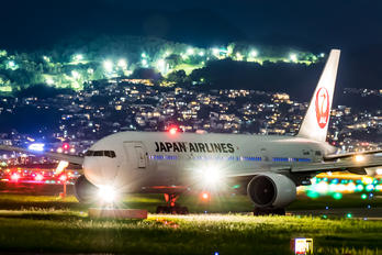 JA0080 - JAL - Japan Airlines Boeing 777-200