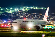 JA0080 - JAL - Japan Airlines Boeing 777-200 aircraft