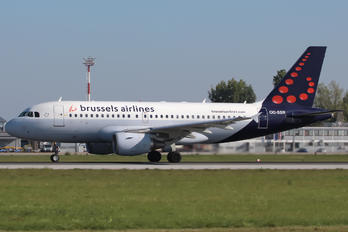 OO-SSR - Brussels Airlines Airbus A319