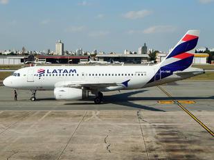 PT-TME - LATAM Airbus A319