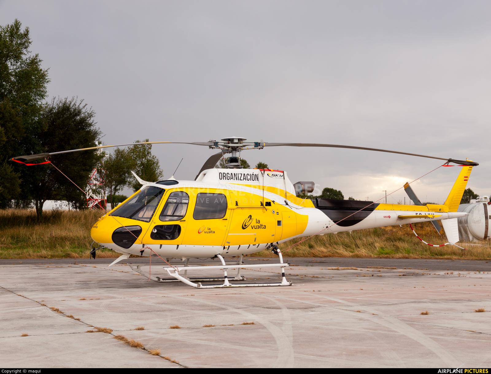 Sky Helicopteros EC-LXH aircraft at Lugo - Rozas