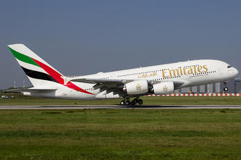 D-WWAP - Emirates Airlines Airbus A380