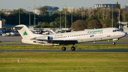 YR-FKB - Carpatair Fokker 100