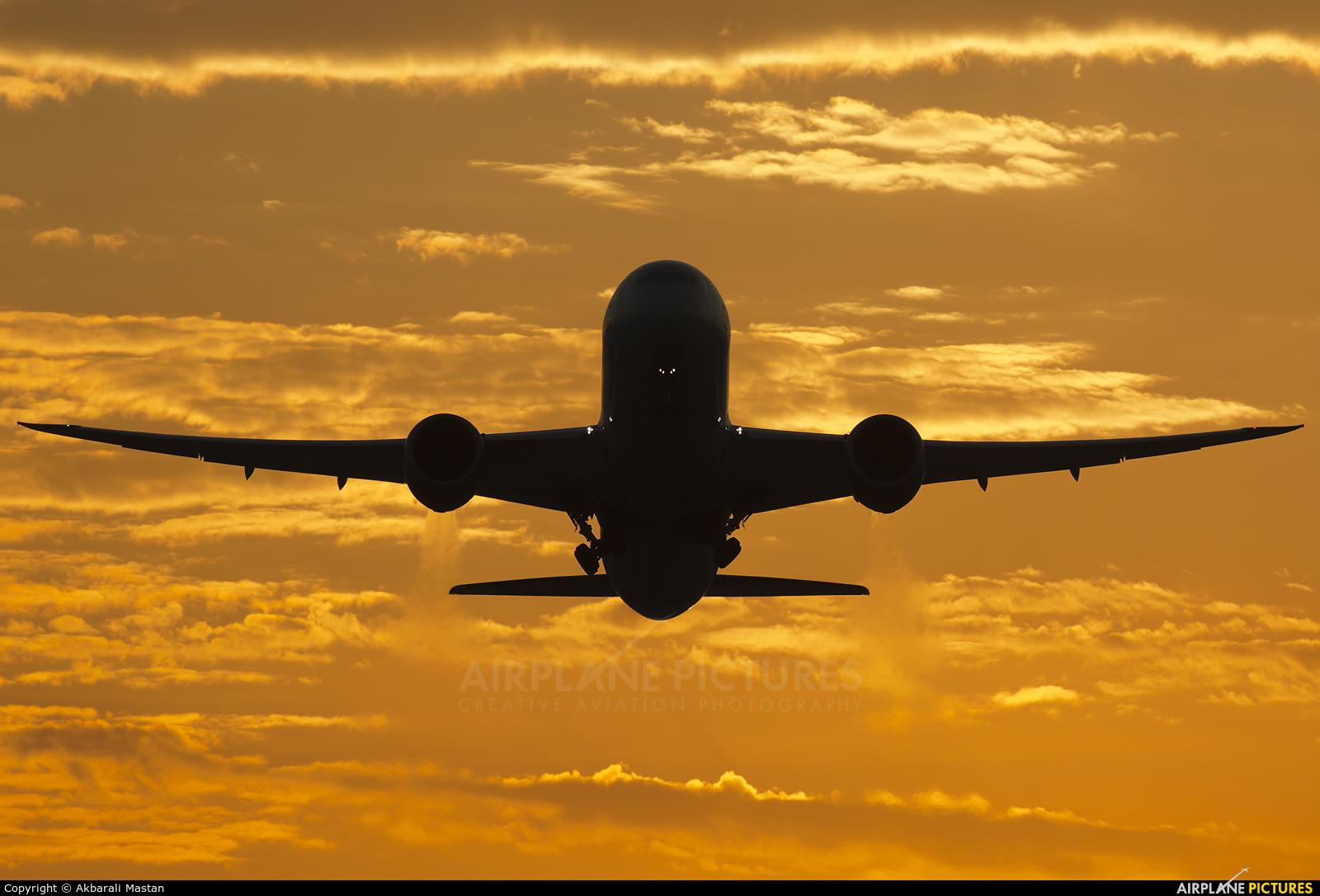 Virgin Atlantic G-VNEW aircraft at London - Heathrow