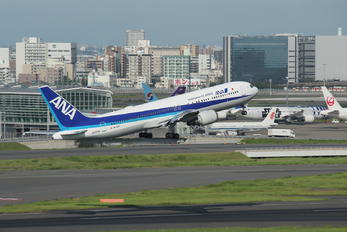 JA605A - ANA - All Nippon Airways Boeing 767-300