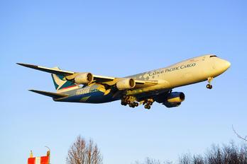 B-LJA - Cathay Pacific Cargo Boeing 747-8F