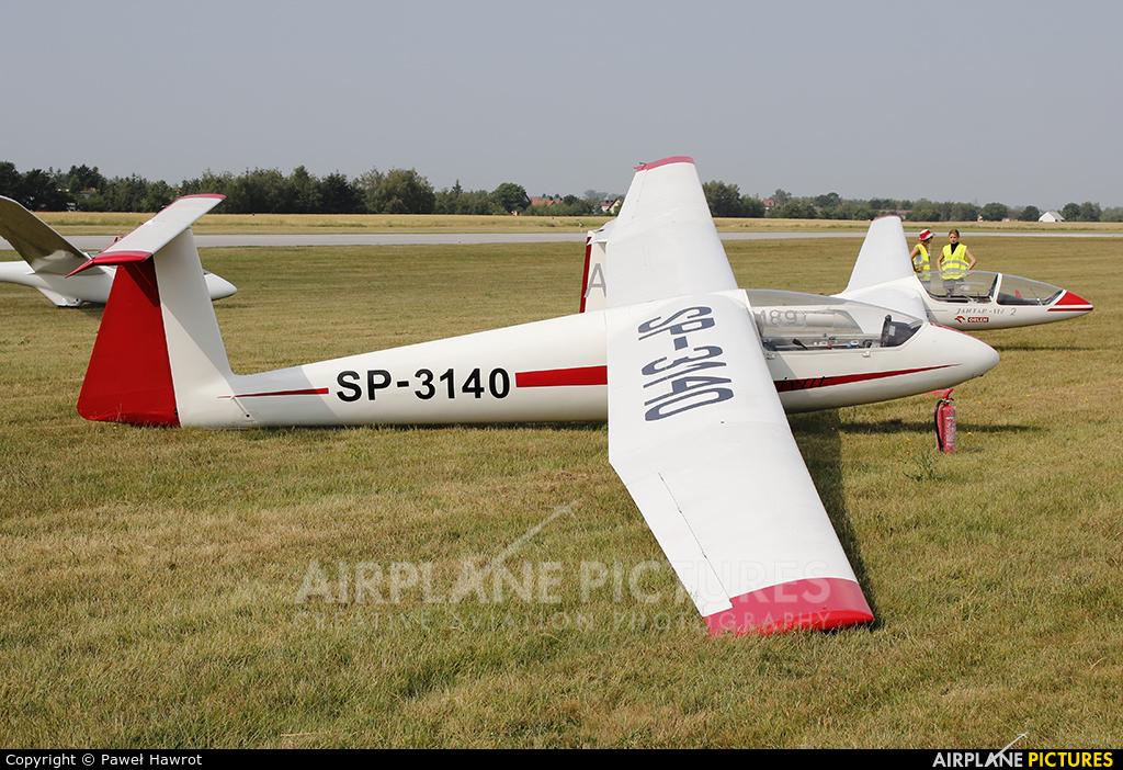 Aeroklub Rzeszowski SP-3140 aircraft at Rzeszów-Jasionka