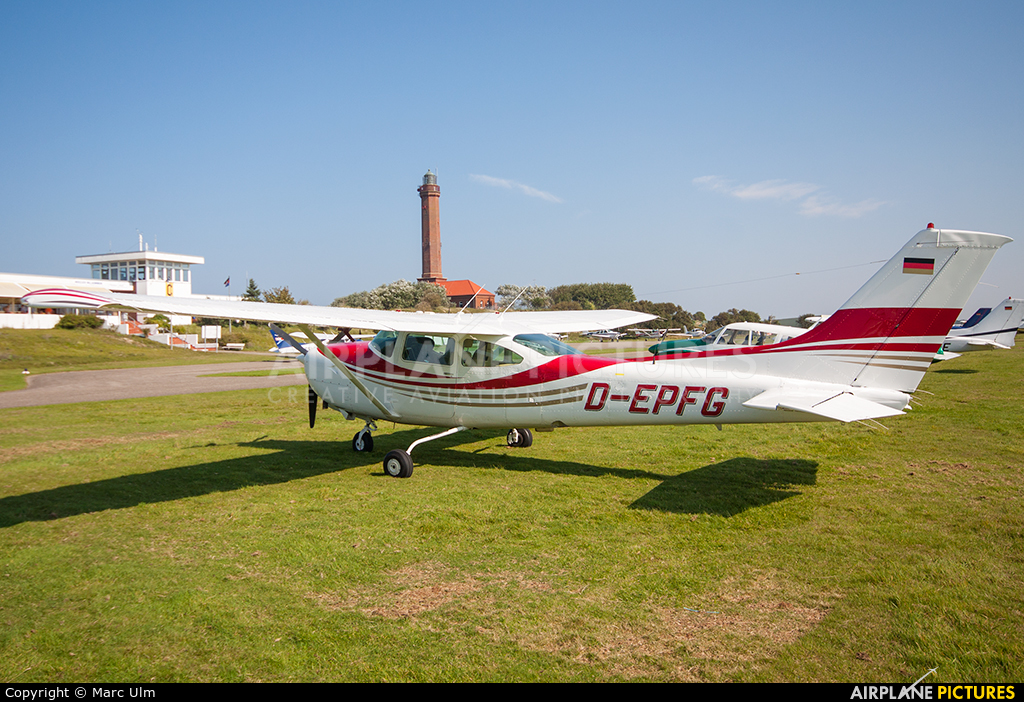 Private D-EPFG aircraft at Norderney