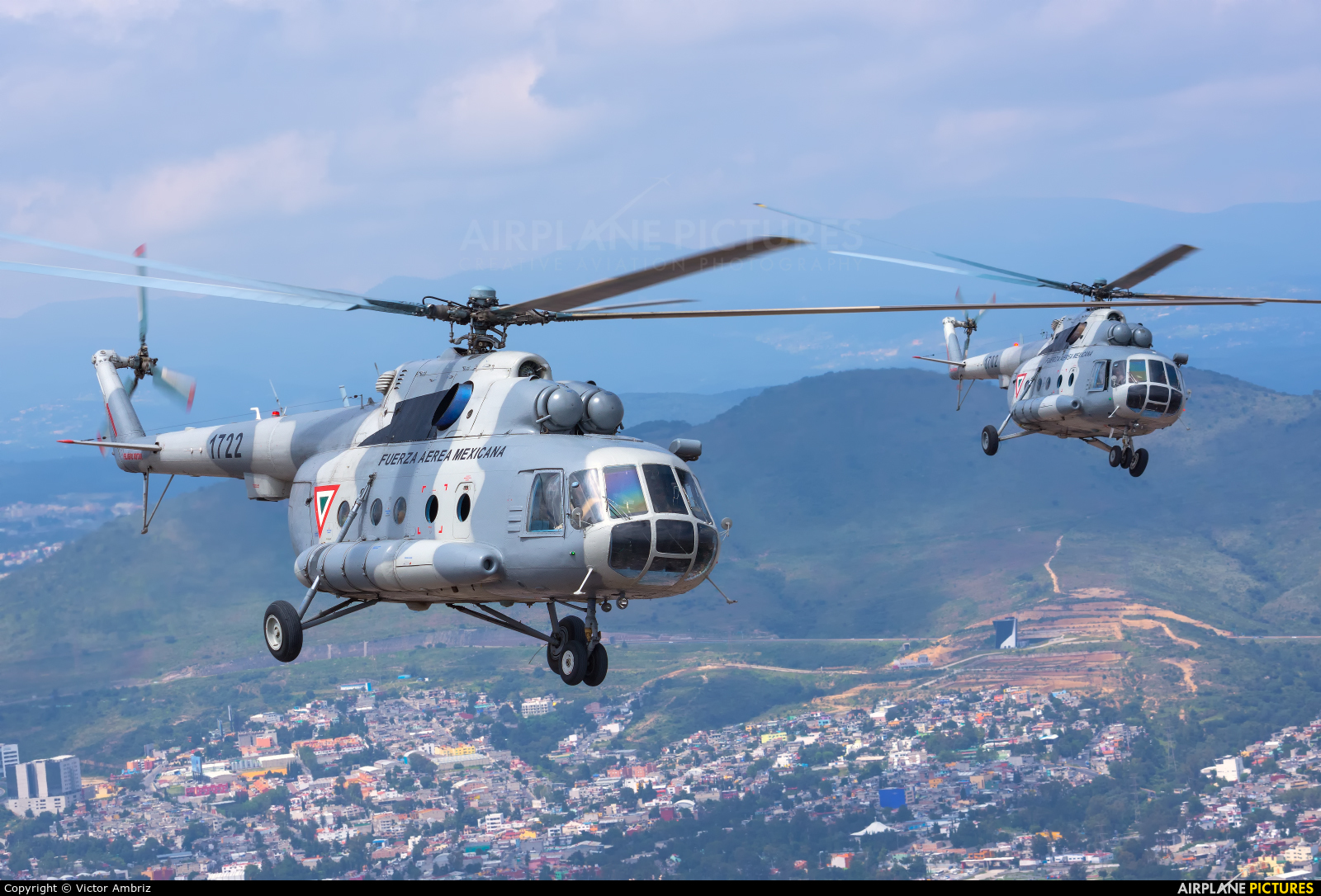 Mexico - Air Force 1722 aircraft at In Flight - Mexico