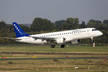 TC-YAN - Bora Jet Airlines Embraer ERJ-190 (190-100)