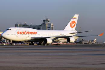 EC-LNA - Conviasa Boeing 747-400