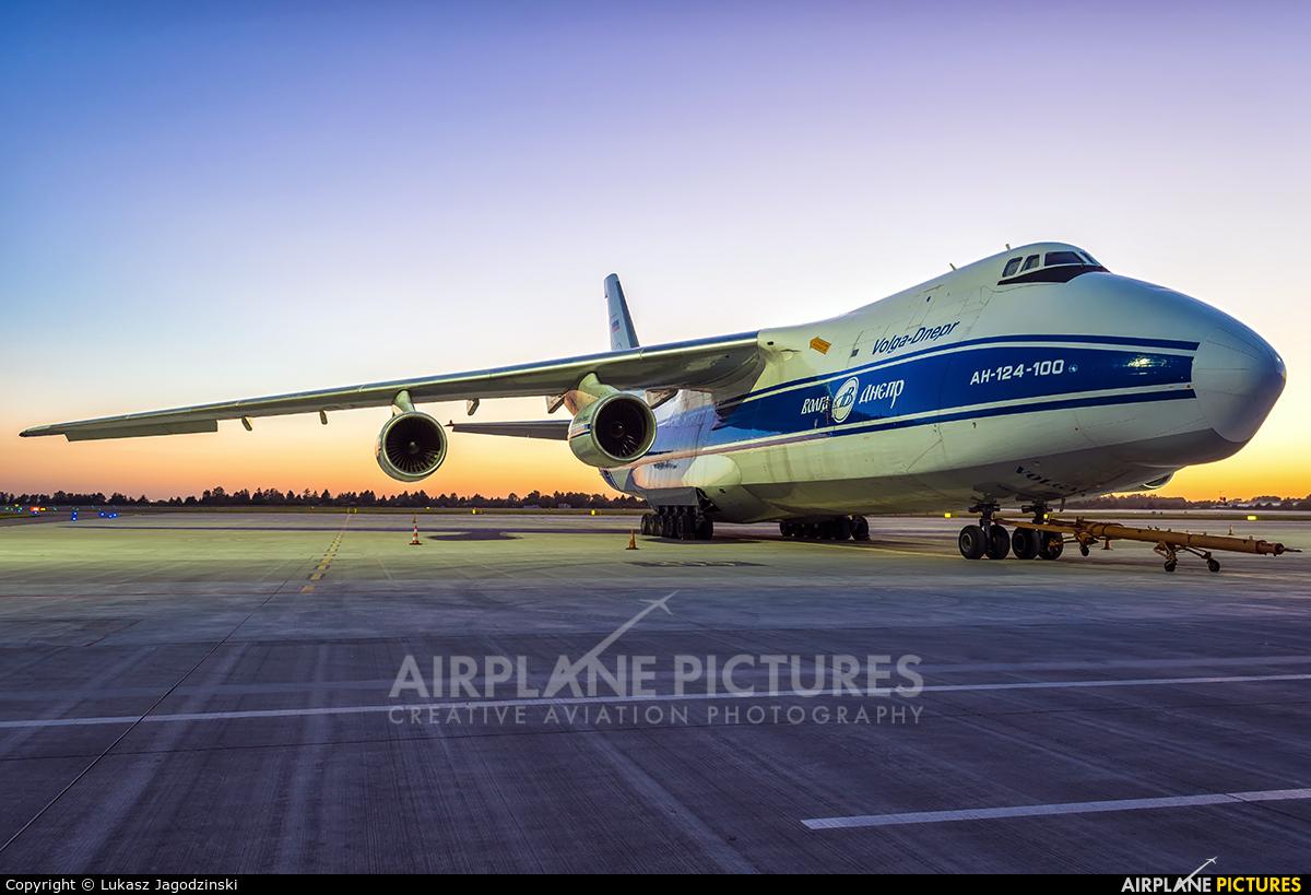 Volga Dnepr Airlines RA-82047 aircraft at Warsaw - Frederic Chopin