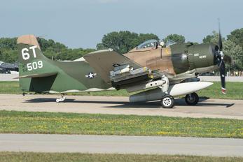 N2AD - Private Douglas A-1 Skyraider