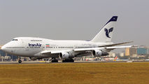 EP-IAC - Iran Air Boeing 747SP aircraft