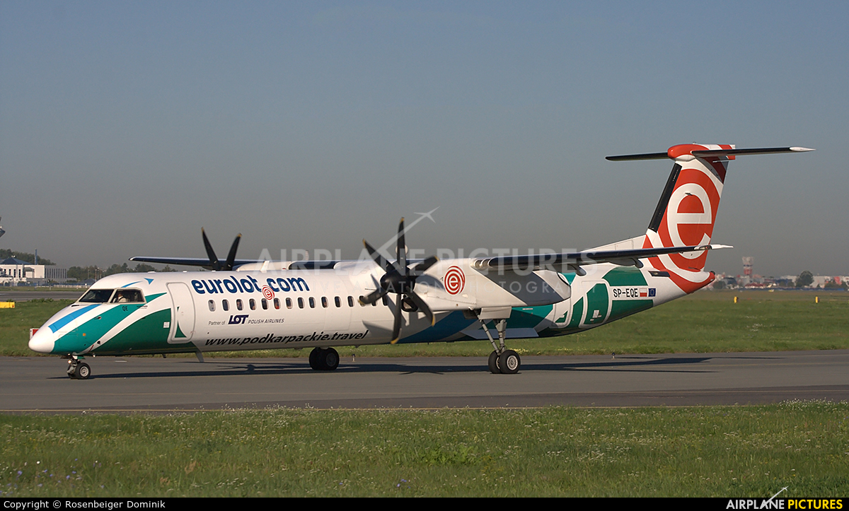 LOT - Polish Airlines SP-EQE aircraft at Warsaw - Frederic Chopin