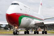 A4O-OMN - Oman - Royal Flight Boeing 747-400 aircraft
