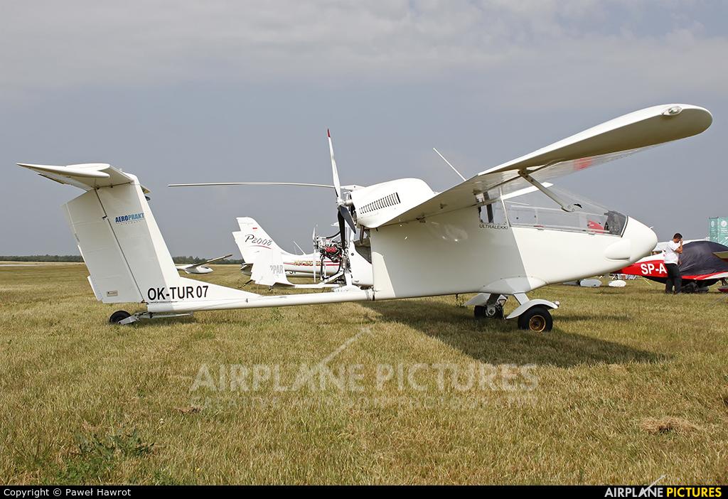 Private OK-TUR 07 aircraft at Rzeszów-Jasionka