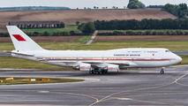 A9C-HMK - Bahrain Amiri Flight Boeing 747-400 aircraft