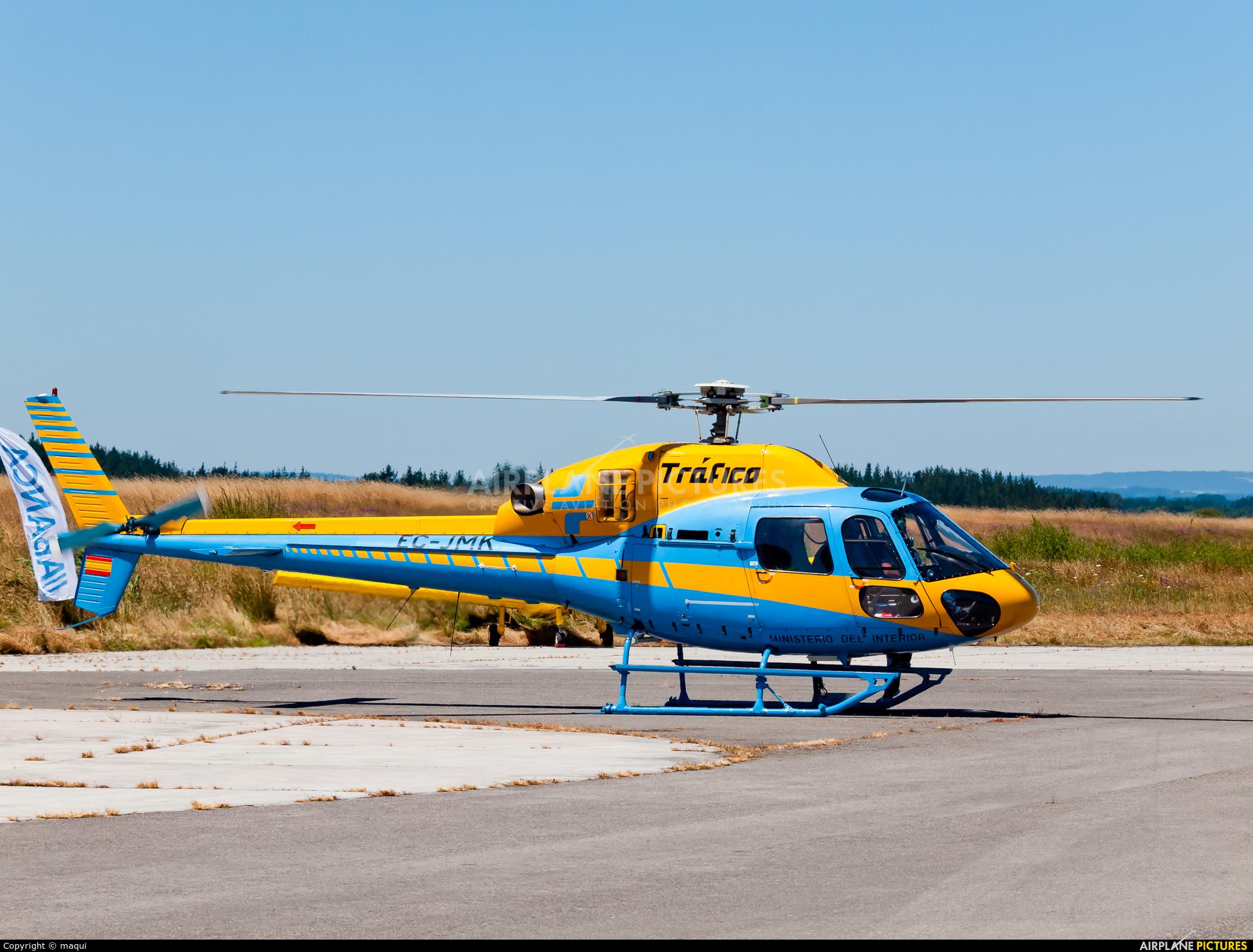 Spain - Government EC-JMK aircraft at Lugo - Rozas