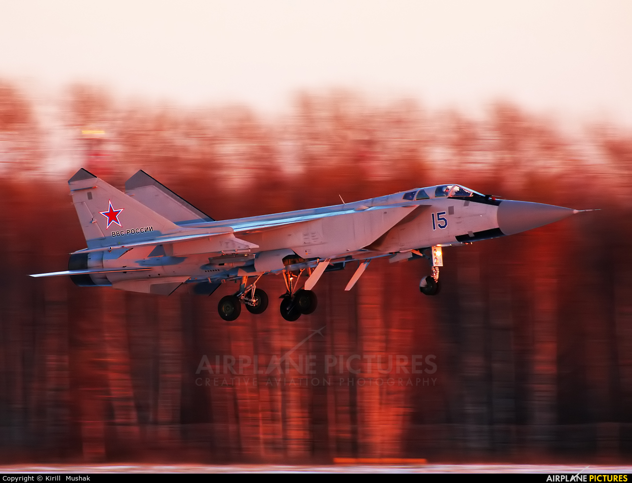 Russia - Air Force 15 BLUE aircraft at Undisclosed Location