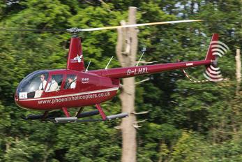 G-LHXL - Private Robinson R44 Astro / Raven