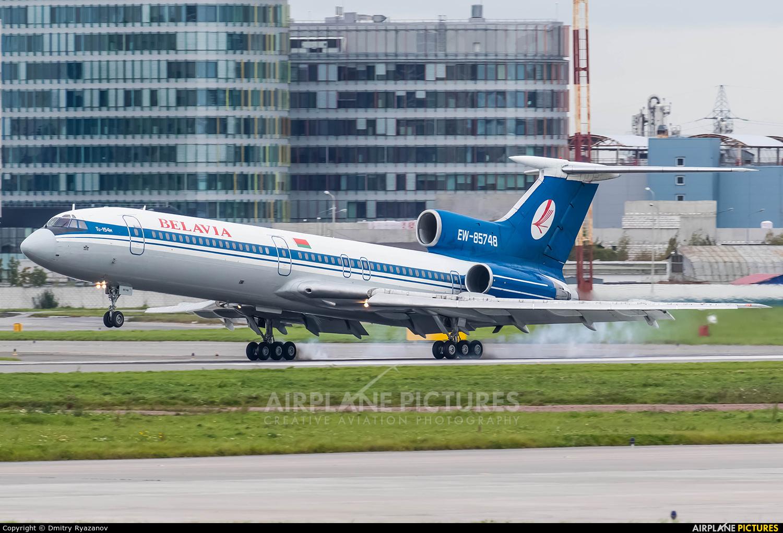 Belavia EW-85748 aircraft at St. Petersburg - Pulkovo