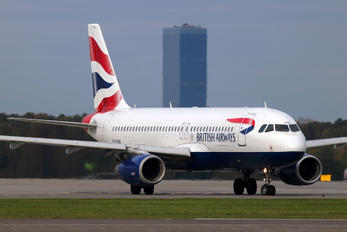 G-EUUW - British Airways Airbus A320