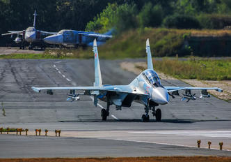 29 RED - Russia - Air Force Sukhoi Su-30SM