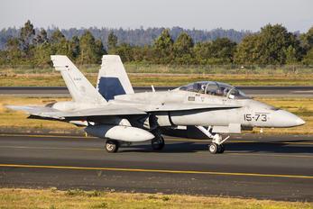 CE.15-04 - Spain - Air Force McDonnell Douglas EF-18B Hornet