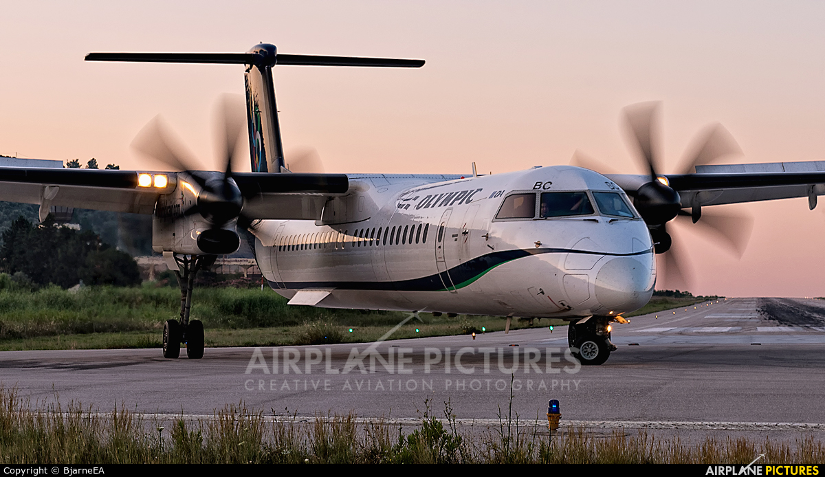 Olympic Airlines SX-OBC aircraft at Skiathos