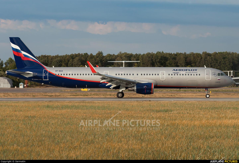 Aeroflot VP-BAX aircraft at Kazan