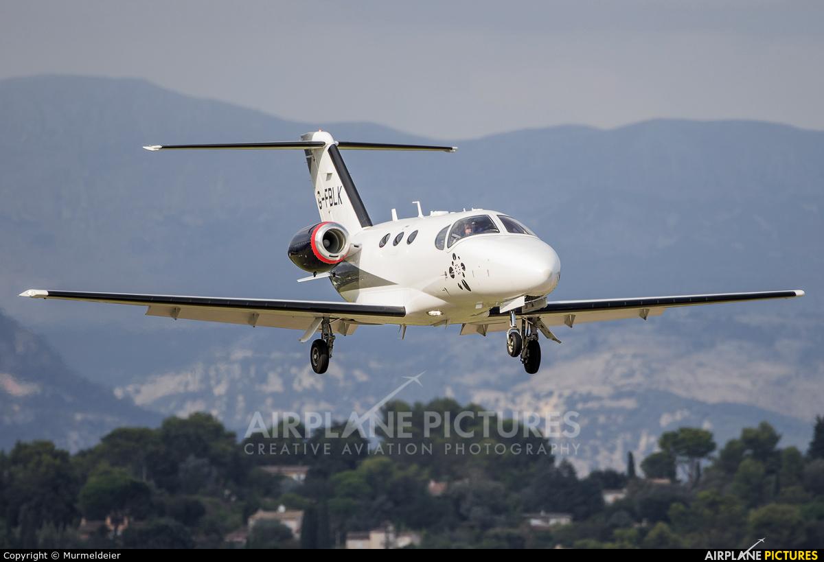 Blink G-FBLK aircraft at Cannes - Mandelieu