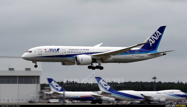 ANA - All Nippon Airways JA834A aircraft at Tokyo - Narita Intl