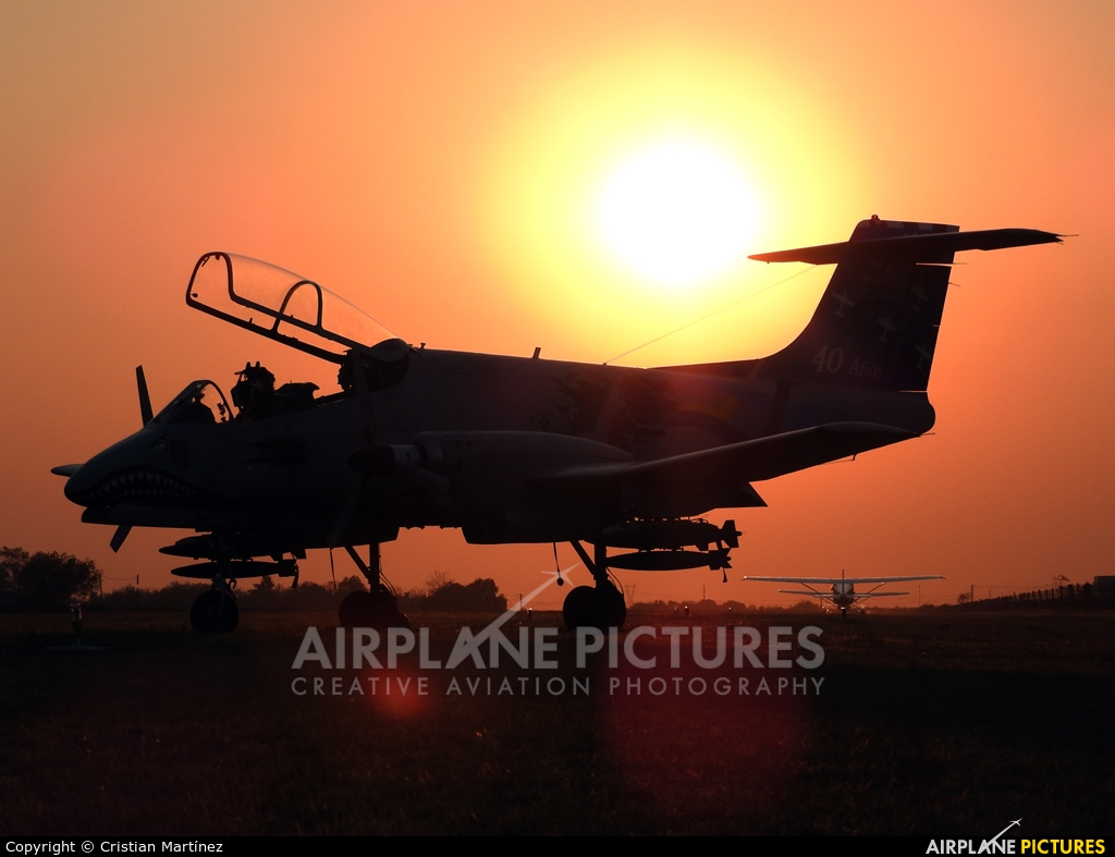 Argentina - Air Force A-588 aircraft at Reconquista - Daniel Jurkic