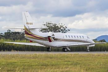 PR-SVR - Private Cessna 680 Sovereign