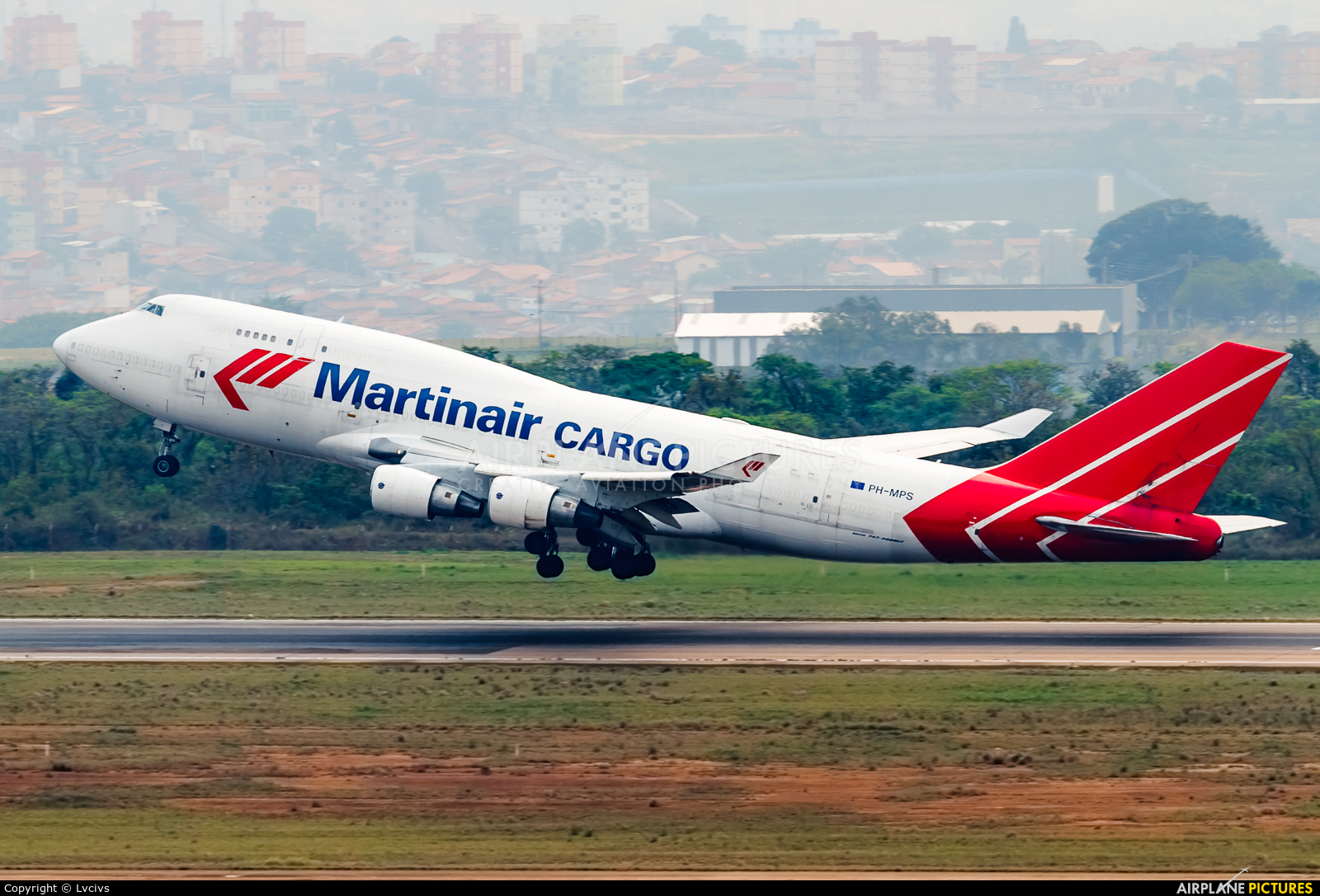 Martinair Cargo PH-MPS aircraft at Campinas - Viracopos Intl