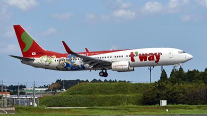 HL8024 - T'Way Air Boeing 737-800