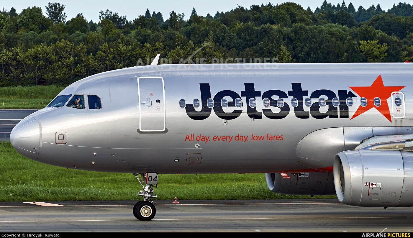Jetstar Japan JA04JJ aircraft at Tokyo - Narita Intl