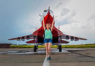 "07 BLUE - Russia - Air Force ""Strizhi"" Mikoyan-Gurevich MiG-29UB"