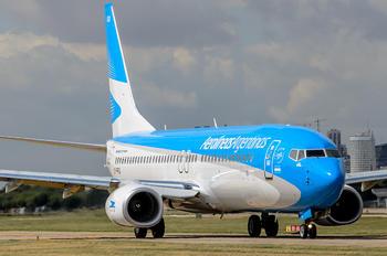 LV-FRQ - Aerolineas Argentinas Boeing 737-800