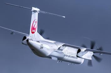 JA850C - JAL-  Japan Air Commuter de Havilland Canada DHC-8-400Q / Bombardier Q400
