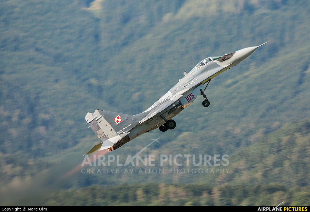 Poland - Air Force 105 aircraft at Zeltweg