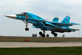 RF-93833 - Russia - Air Force Sukhoi Su-34