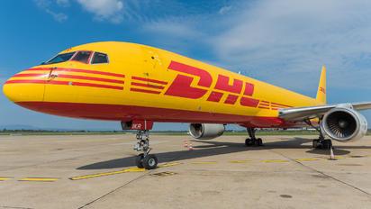 G-BIKR - DHL Cargo Boeing 757-200F