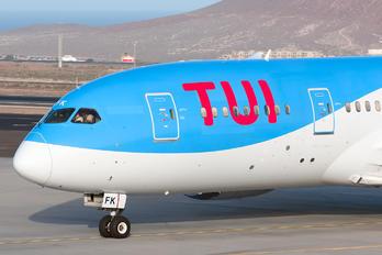 PH-TFK - TUI Airlines Netherlands Boeing 787-8 Dreamliner
