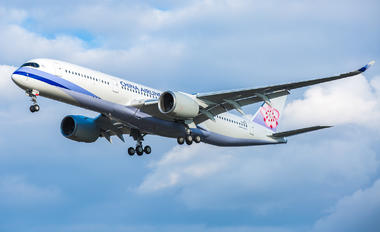 F-WZGV - China Airlines Airbus A350-900
