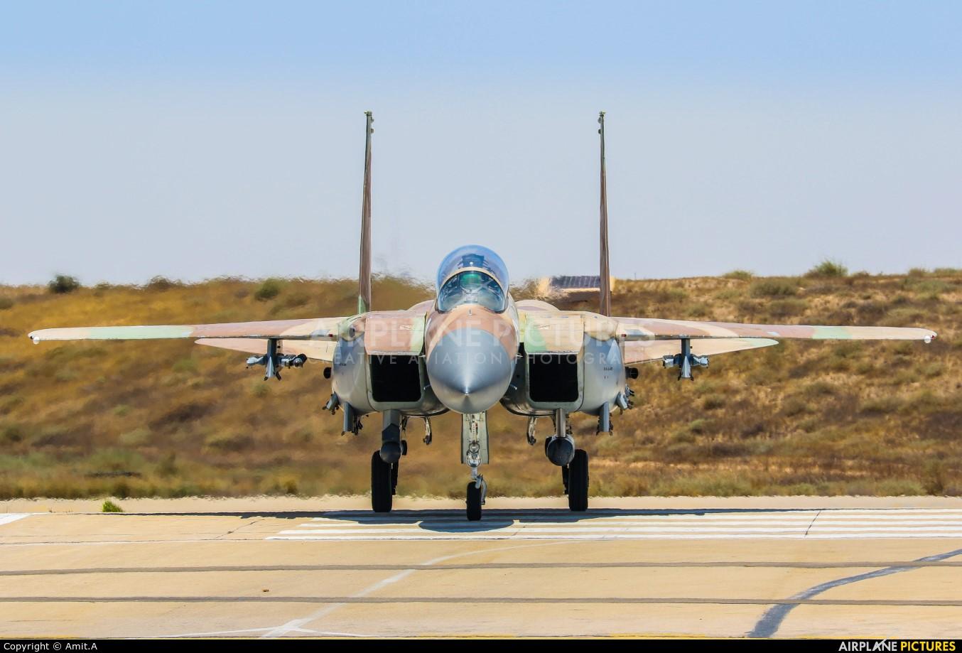 Israel - Defence Force 250 aircraft at Beersheba - Hatzerim