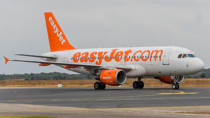 G-EZBX - easyJet Airbus A319