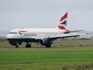 G-EUPP - British Airways Airbus A319
