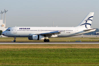 SX-DGW - Aegean Airlines Airbus A320